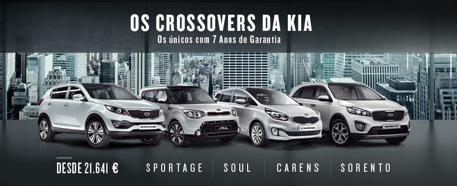 OS CROSSOVERS DA KIA